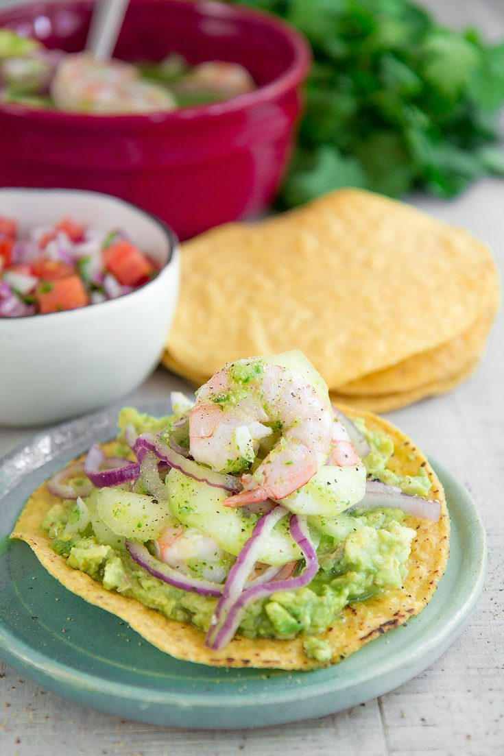 AGUACHILE RECIPE AND HISTORY - Mexican marinated shrimp salad
